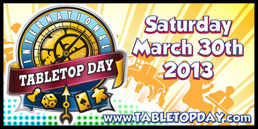 International TableTop Day 2013