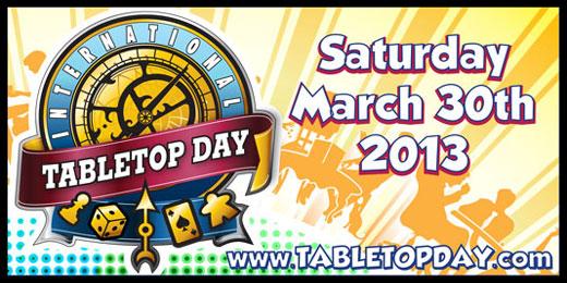 International TableTop Day 2013