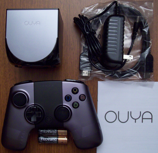 OUYA package contents